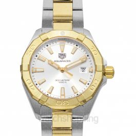 Aquaracer 3-hand Quartz White Dial Men's Watch
