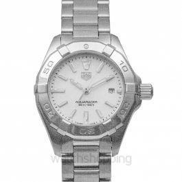 Aquaracer Quartz Mother Of Pearl Dial Ladies Watch