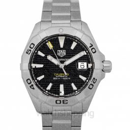 Aquaracer Calibre 5 Automatic Black Dial Men's Watch