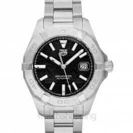 Aquaracer Calibre 9 Automatic Black Dial Ladies Watch