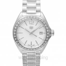 Formula 1 Quartz Mother Of Pearl Dial with Diamonds Bezel Ladies Watch
