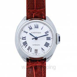 Clé de Cartier 35mm Automatic Silver Dial Steel case Unisex Watch