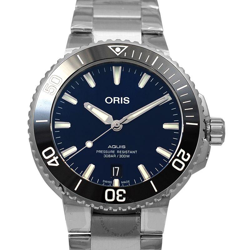 Oris Aquis Date Automatic Blue Dial Men's Watch