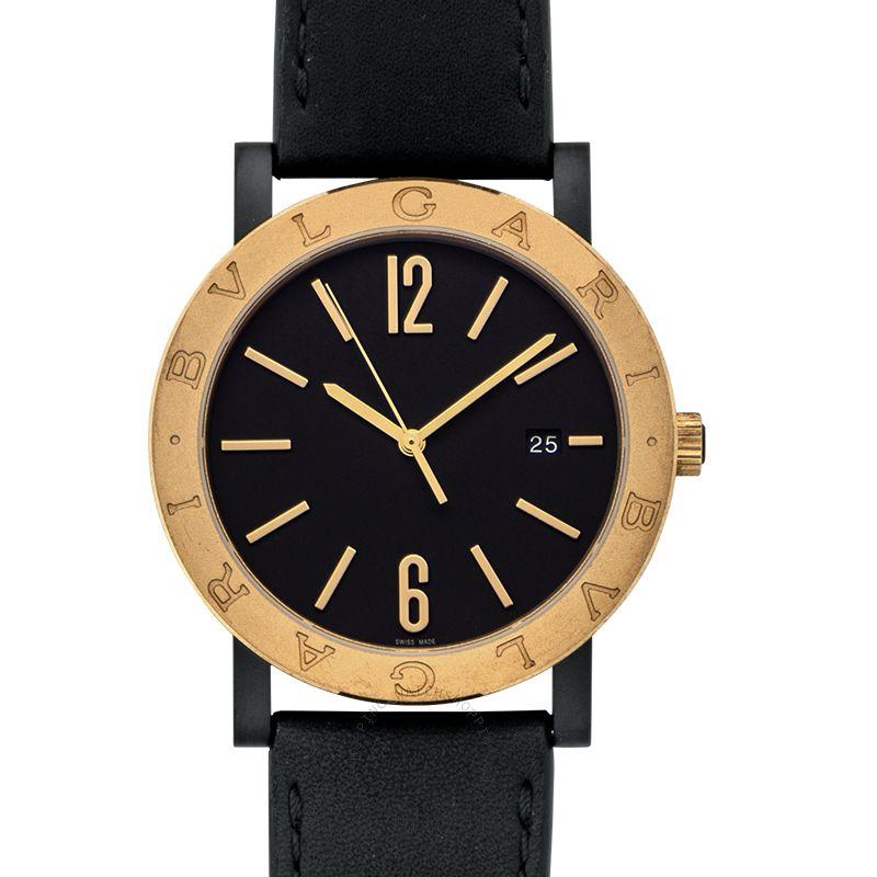 Bvlgari Bvlgari Solotempo Automatic Black Dial Men's Watch 102931