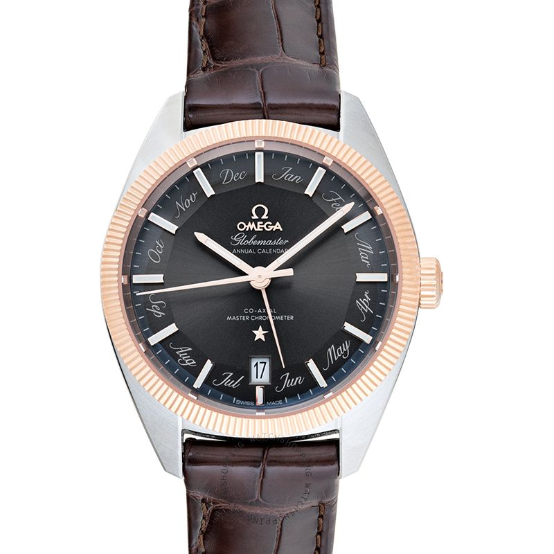 Omega Constellation Automatic Grey Dial Men's Watch