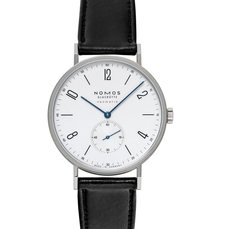 Nomos Glashütte Tangente Neomatik 39 Automatic White Dial 38.5mm Men's Watch