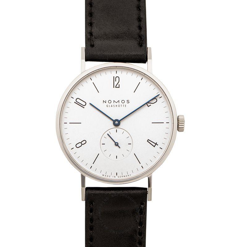 Nomos Glashütte Tangente 38 Manual-winding White Dial 37.5mm Men's Watch