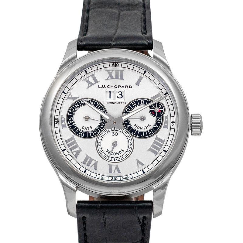 Chopard L.U.C. Perpetual Twin Automatic Silver Dial Men's Watch 168561-3001