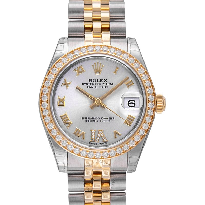 Rolex Rolex Datejust Lady 31 Grey Dial Stainless Steel and 18K Yellow Gold Jubilee Bracelet Automatic Watch 178383GRDJ