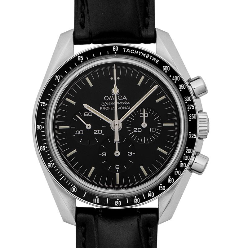Omega Speedmaster Moonwatch Professional Chronograph 42 mm Manual-winding Black Dial Steel Men's Watch