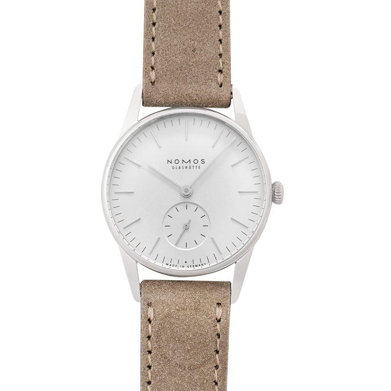 Nomos Glashütte Orion 33 White Manual-winding White Dial 32.8 mm Ladies Watch 324