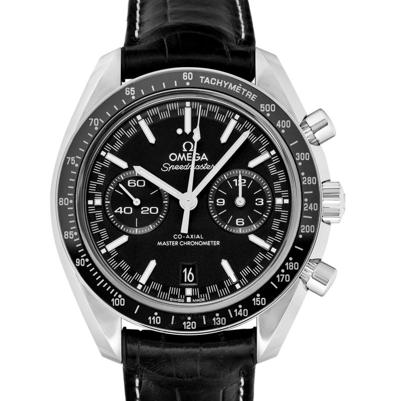 Omega Speedmaster Racing Co‑Axial Master Chronometer Chronograph 44.25mm Automatic Black Dial Steel Men's Watch