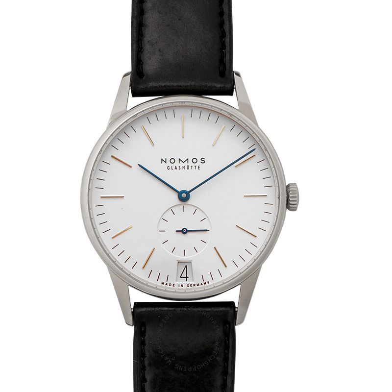 Nomos Glashütte Orion 38 Date Manual-winding White Dial 38.0mm Men's Watch 380