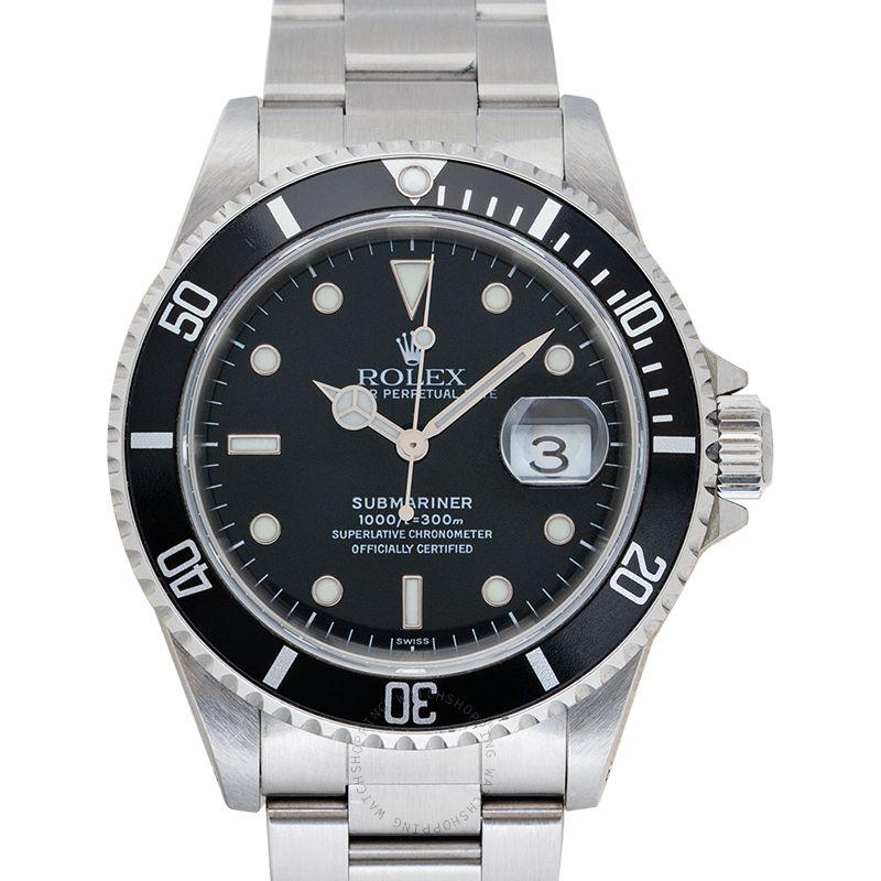 Rolex Submariner 16610 Black_@_22756