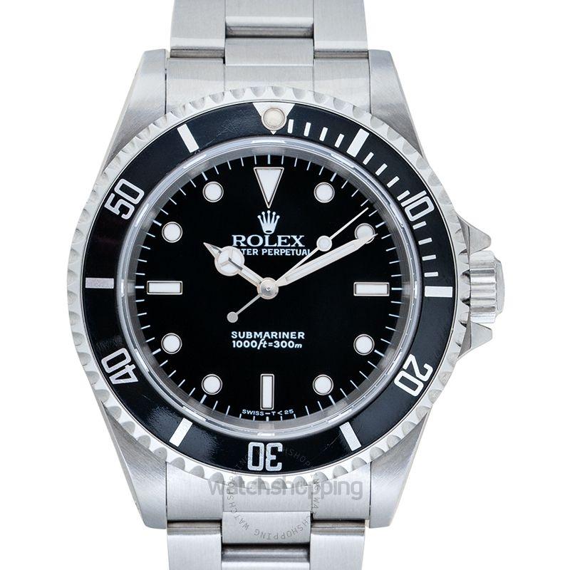 Rolex Submariner Black/Steel Ø40mm