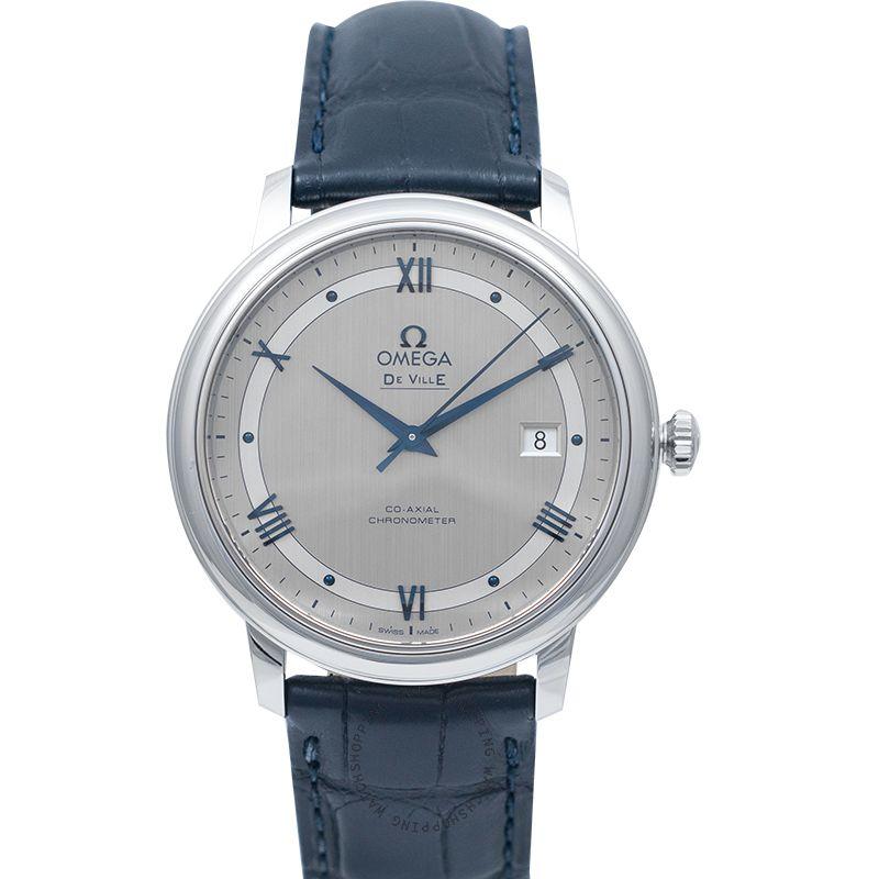 Omega De Ville Prestige Co‑Axial 39.5mm Automatic Silver Dial Steel Men's Watch