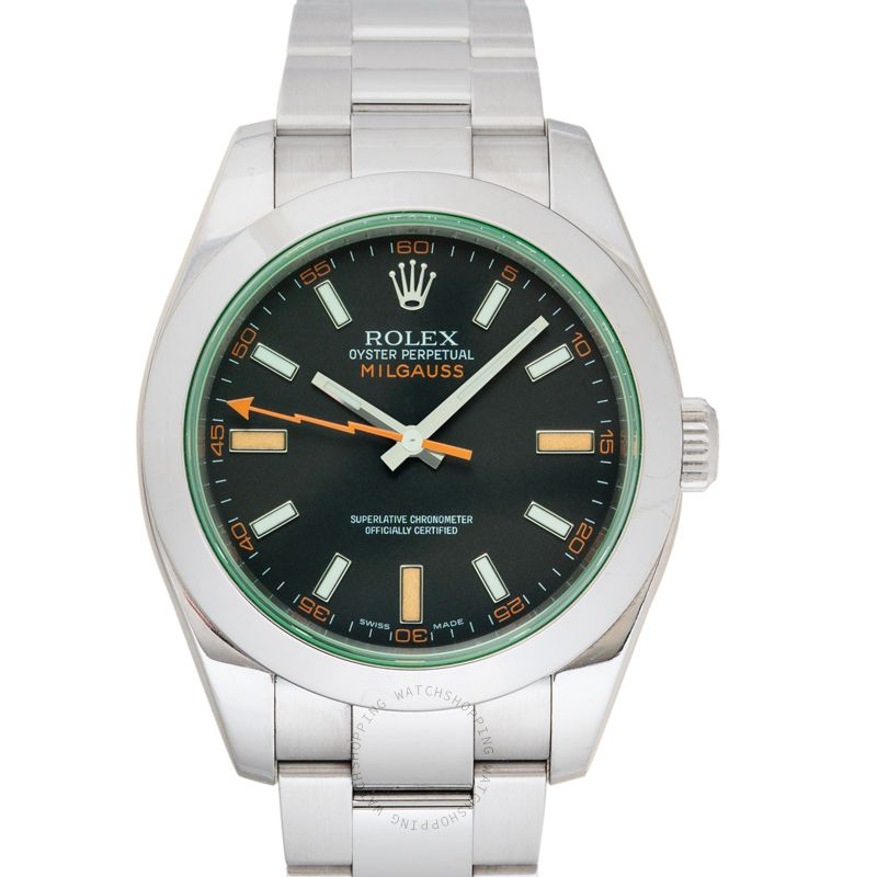 Rolex Milgauss 116400 GV Black_@_26382