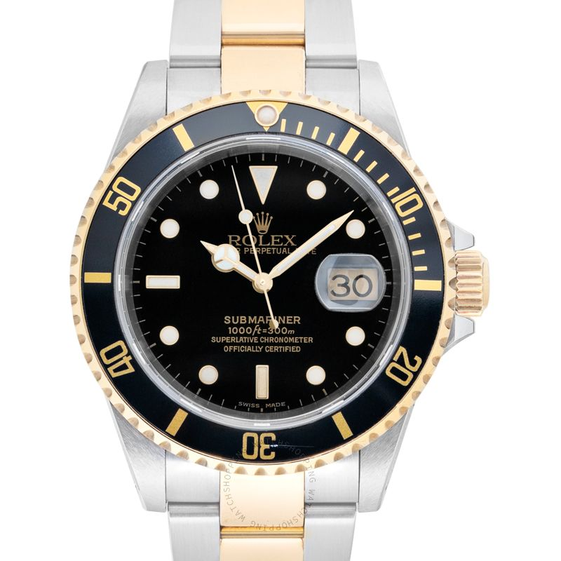 Rolex Submariner 16613-Black_@_31342