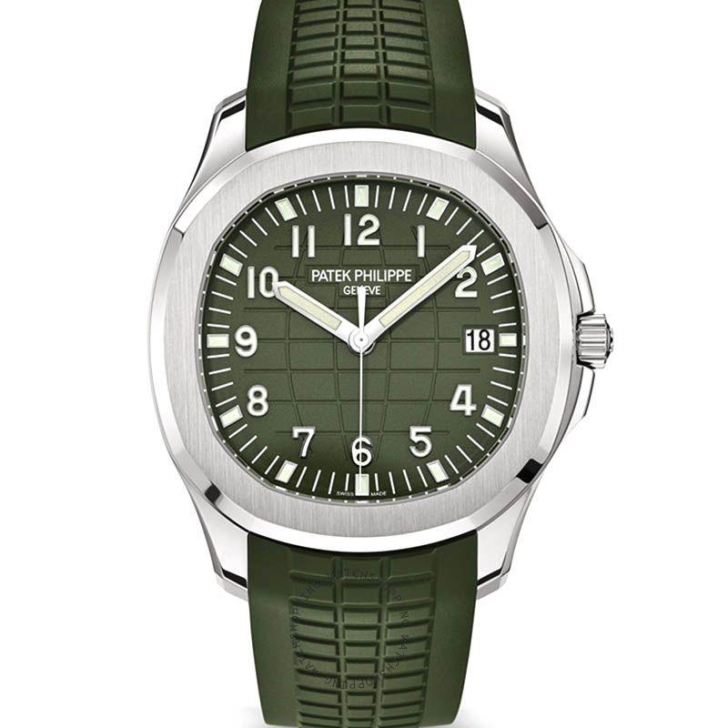Patek Philippe Aquanaut Automatic Green Dial Men's Watch 5168G-010