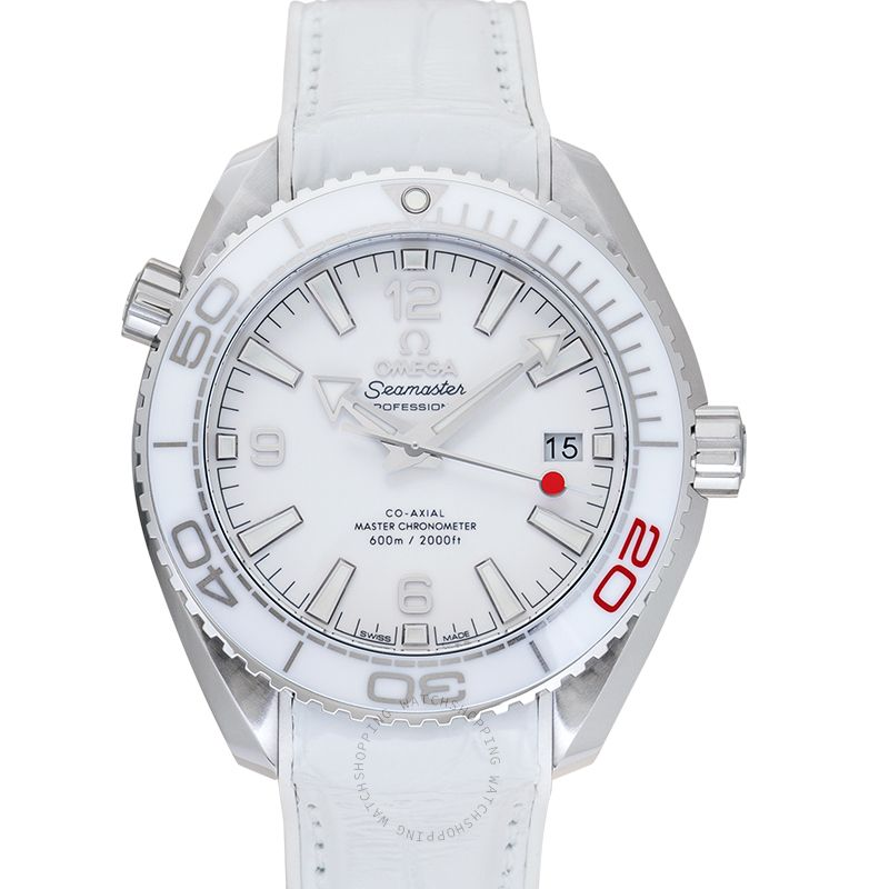 Omega Seamaster Planet Ocean 600M Co-Axial 39.5 Master Olympic Games Automatic White Dial Steel Men's Watch