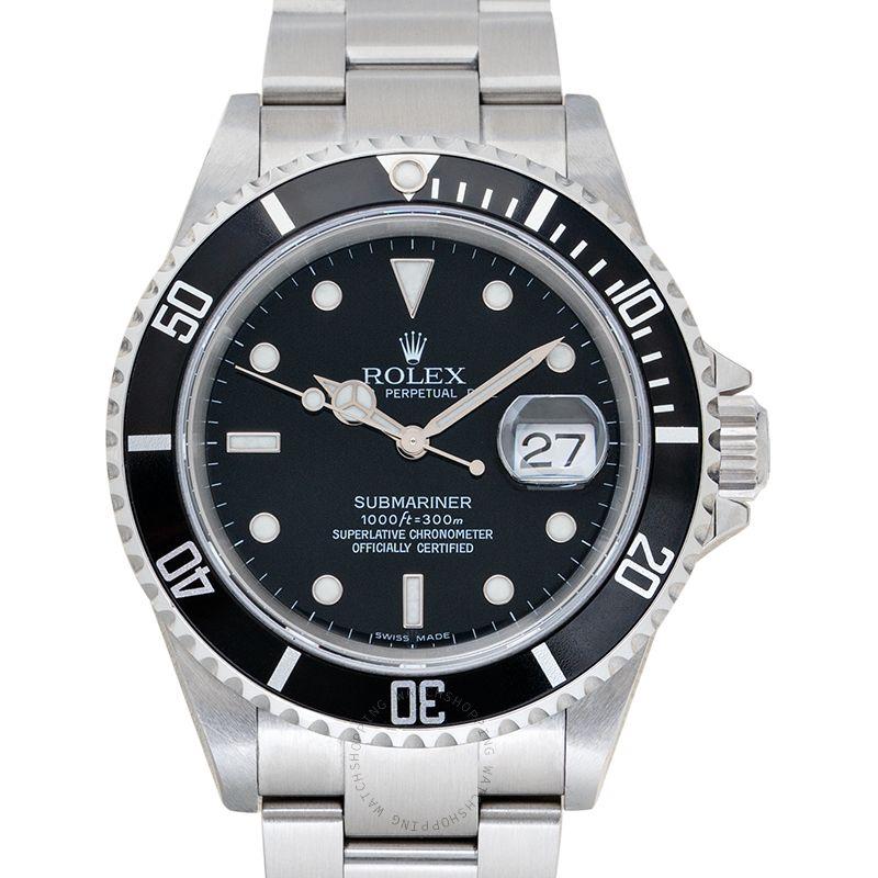 Rolex Submariner 16610 Black_@_34820
