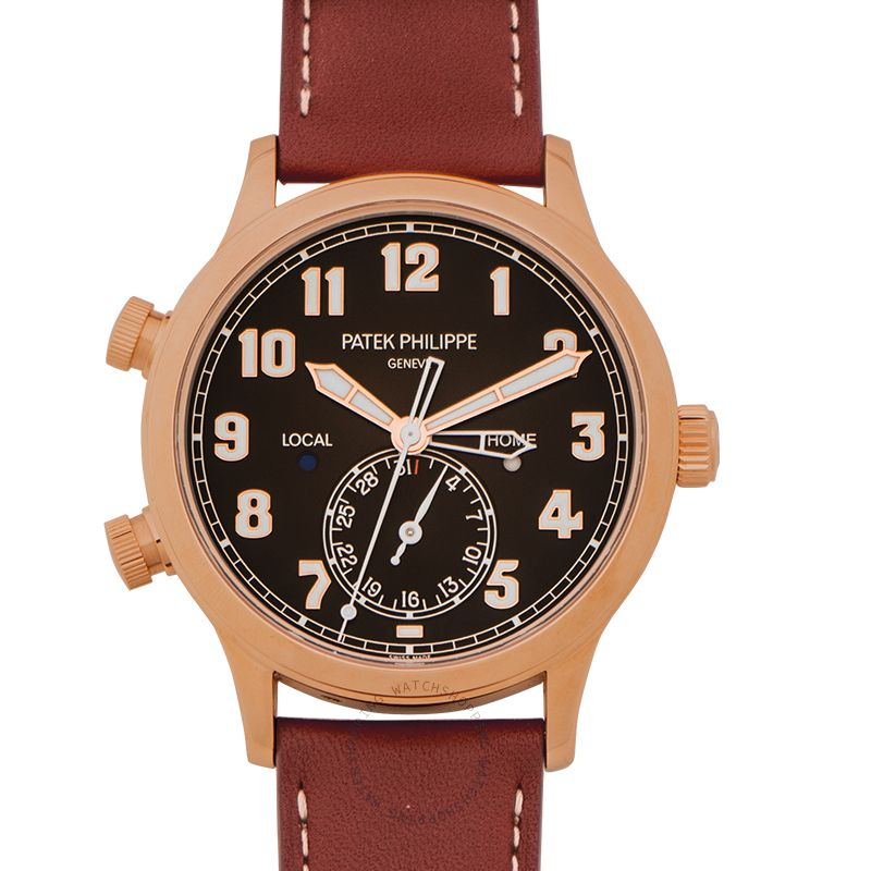 Patek Philippe Complications Brown Dial Men's Watch 5524R-001