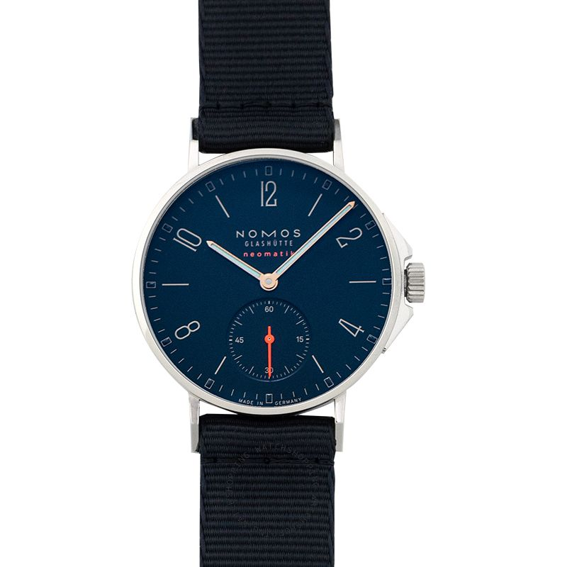 Nomos Glashütte Ahoi Neomatik Atlantic Automatic Blue Dial 36.3 mm Unisex Watch 561
