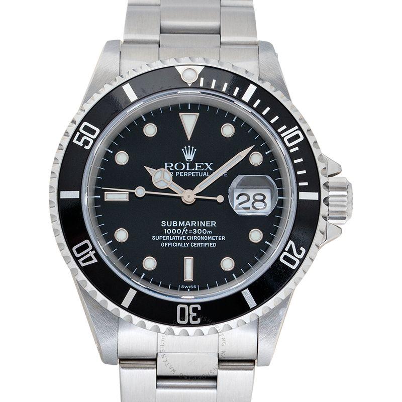 Rolex Submariner 16610 Black_@_36138