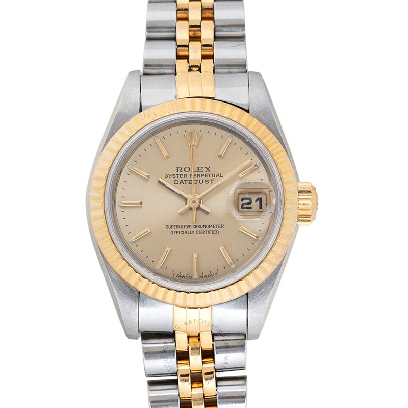 Rolex Lady Datejust 69173 Champagne_@_36558
