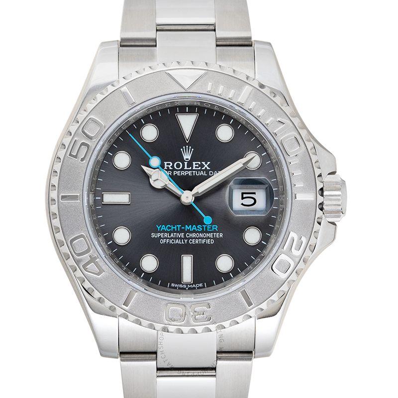 Rolex Yacht Master 116622 dark grey_@_36560