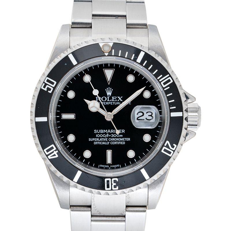 Rolex Submariner 16610 Black_@_36702
