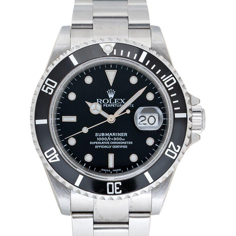 Rolex Submariner 16610 Black_@_36706