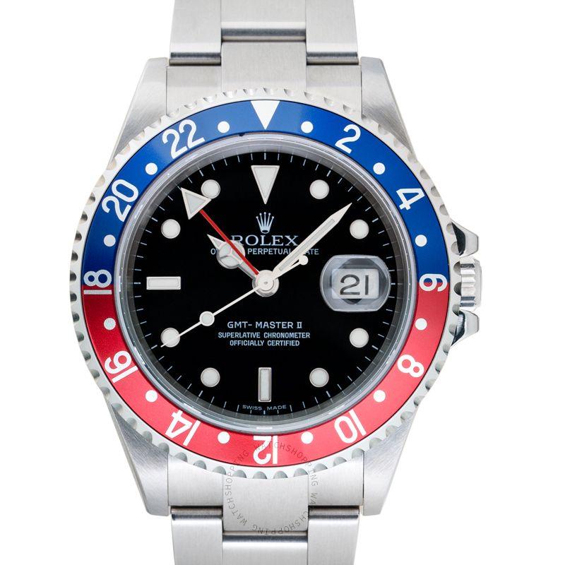 Rolex GMT Master II 16710 Blue Red_@_36988