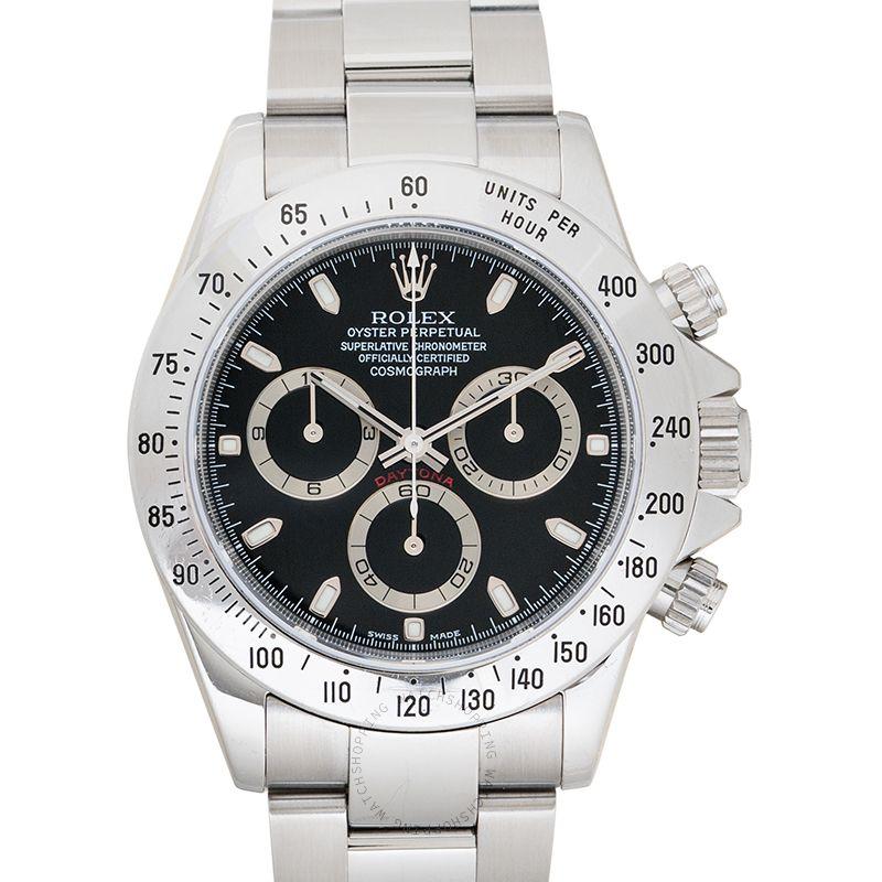 Rolex Cosmograph Daytona 116520 Black_@_37000