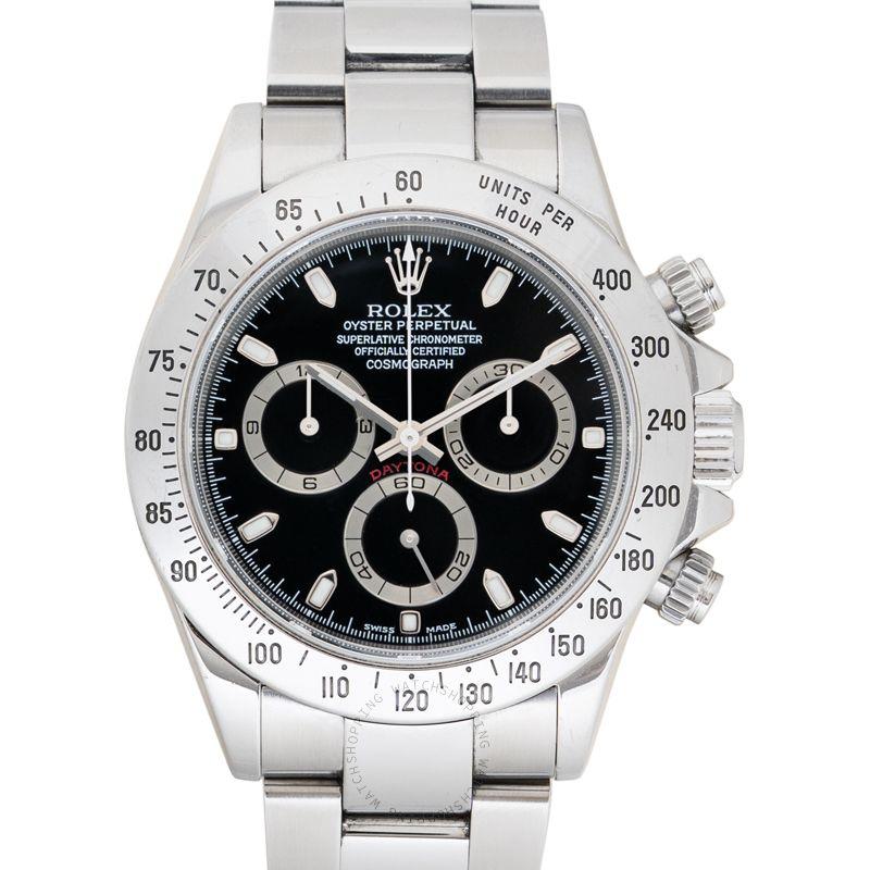 Rolex Cosmograph Daytona 116520 Black_@_37012