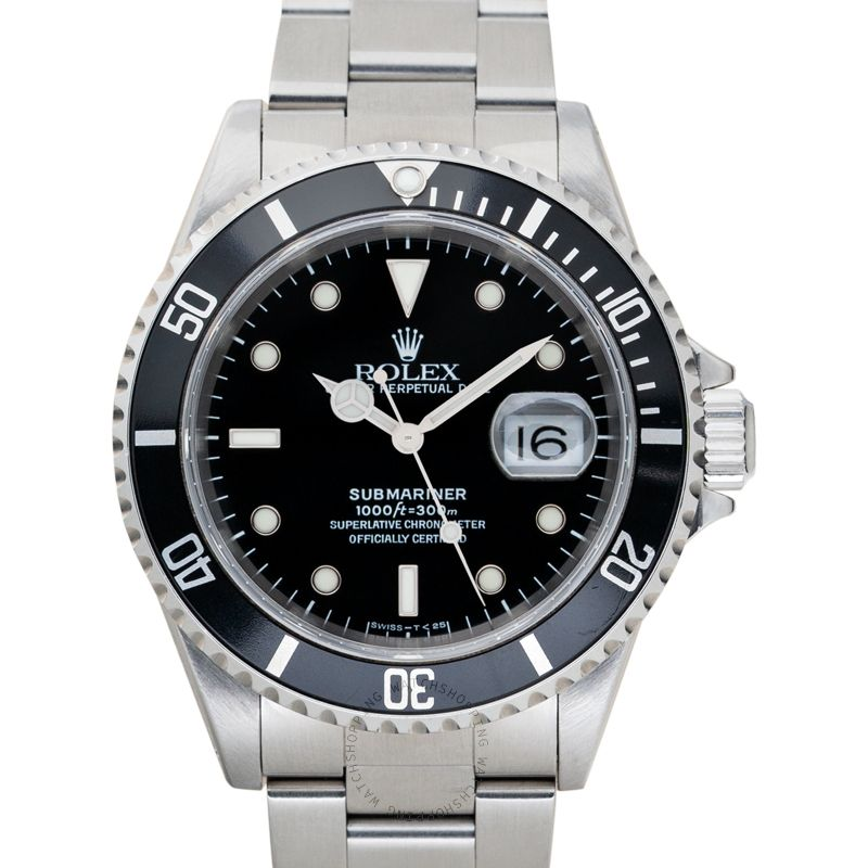 Rolex Submariner 16610 Black_@_37684