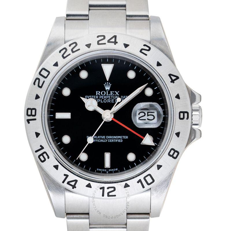Rolex Explorer II 16570 Black_@_37692