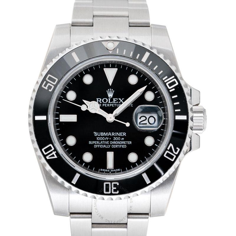 Rolex Black/Steel Ø40mm 116610 LN_@_38358