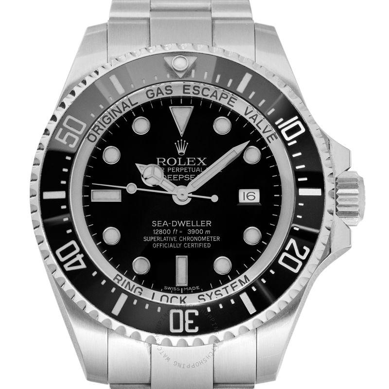 Rolex Deep Sea Black/Steel Ø44 mm 116660 Black_@_38360