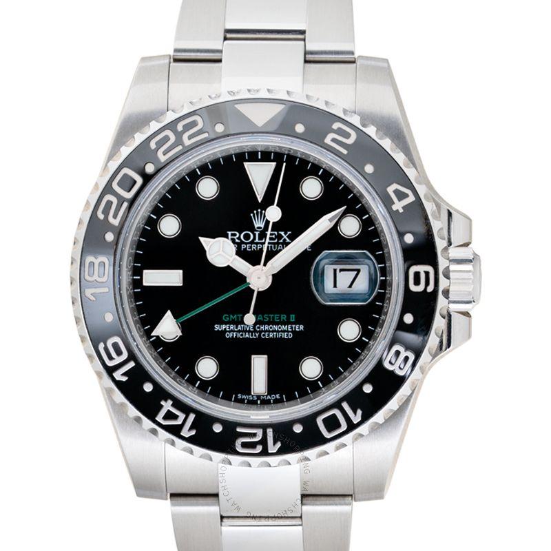 Rolex GMT-Master II Black/Steel Ø40mm 116710 LN_@_38540