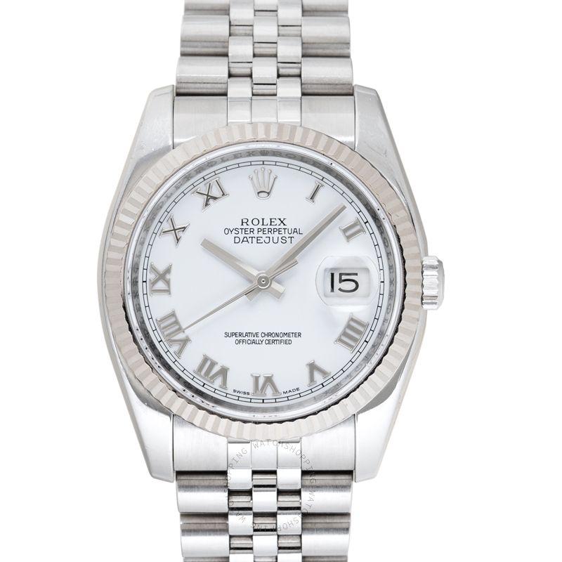 Rolex Datejust Steel White/Steel Ø36 mm 116234/20_@_38542