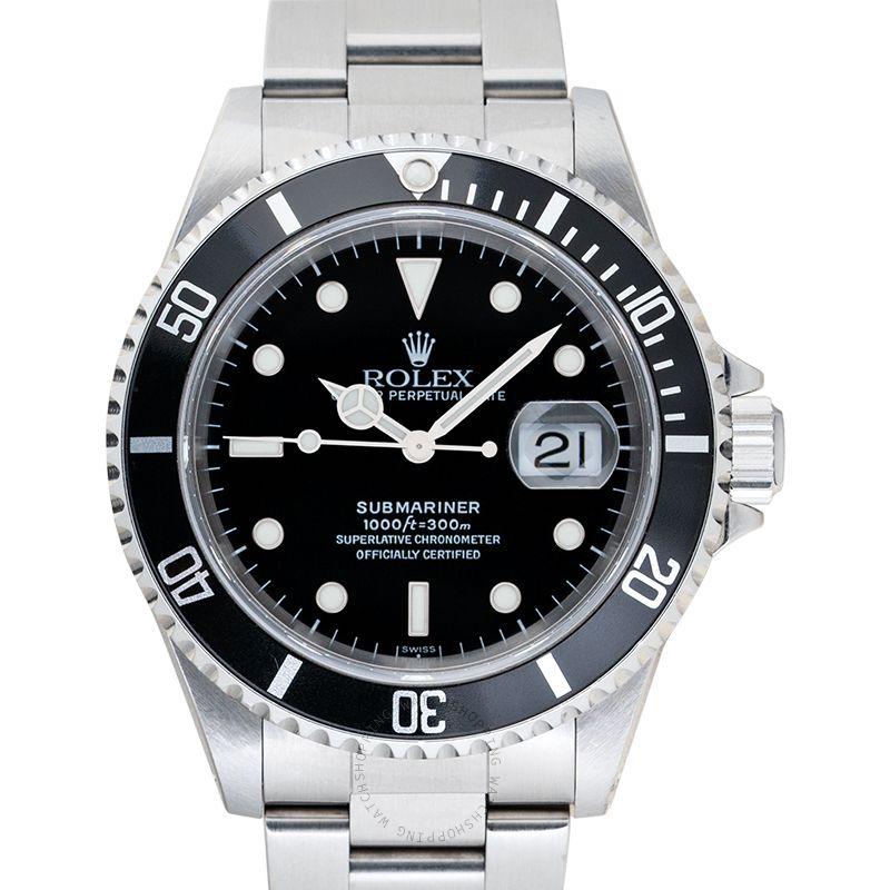 Rolex Submariner 16610 Black_@_38548