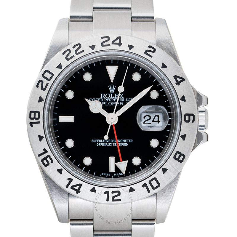 Rolex Explorer II 16570 Black_@_38608