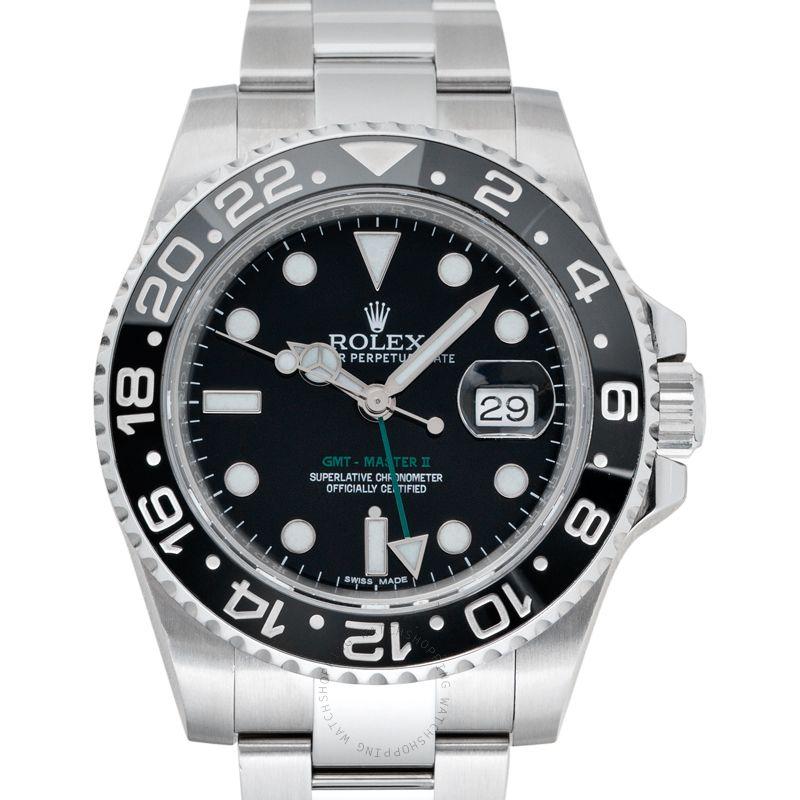 Rolex GMT-Master II Black/Steel Ø40mm 116710 LN_@_38966
