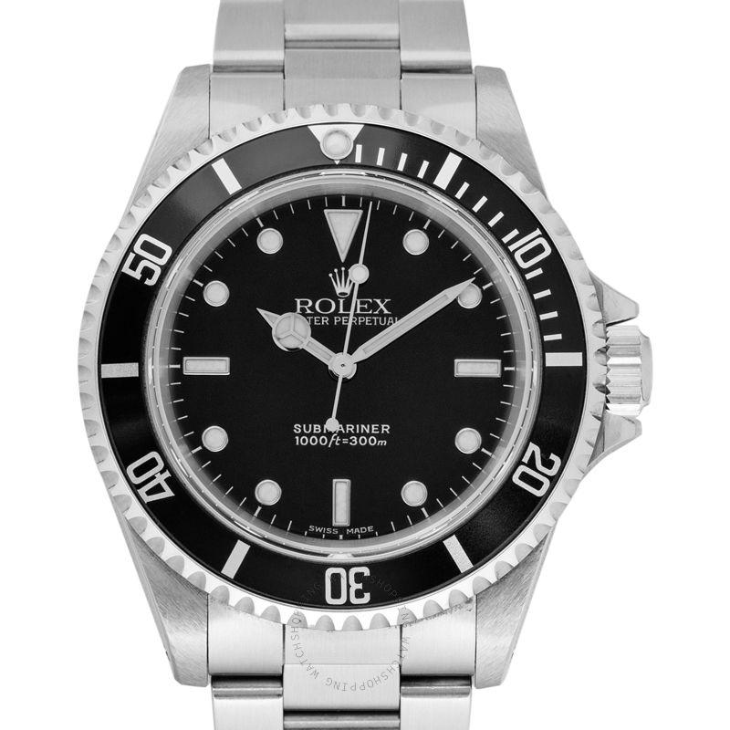 Rolex Submariner Black/Steel Ø40mm 14060M_@_38970