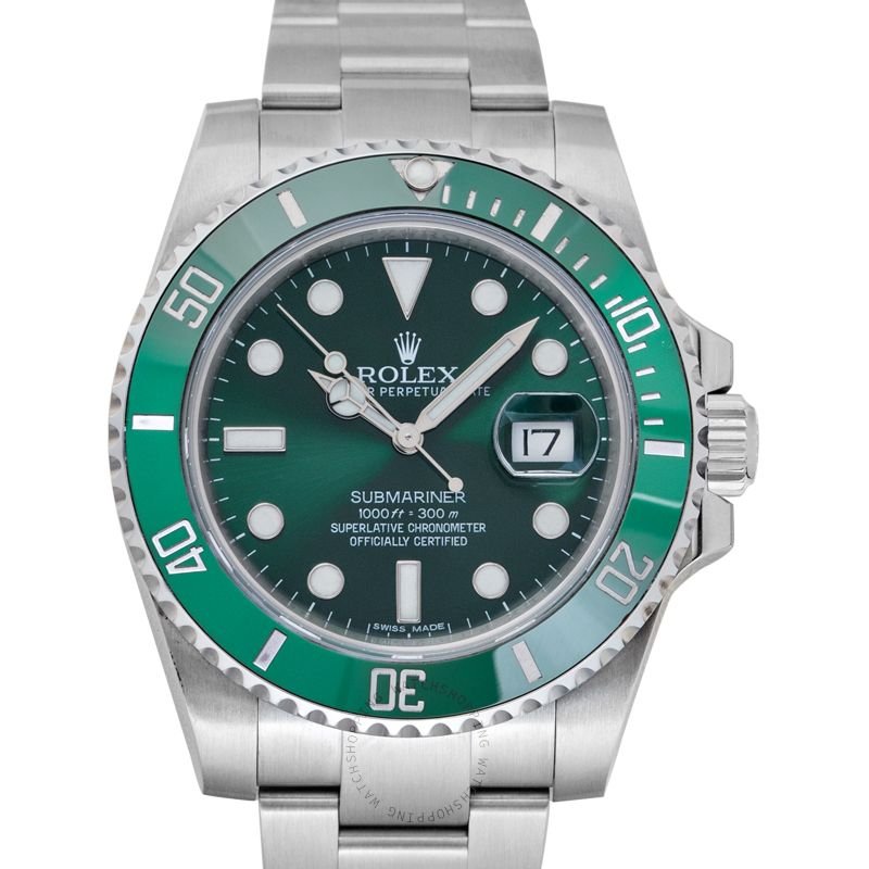 Rolex Submariner Green/Steel Ø40mm 116610 LV_@_39682