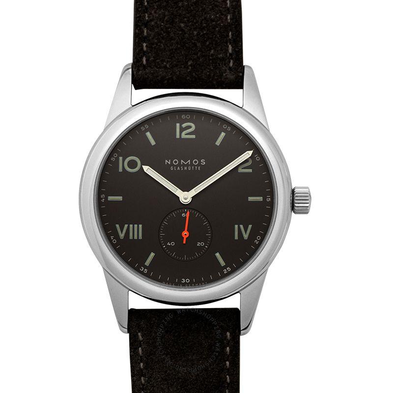 Nomos Glashütte Club Campus 38 Night Manual-winding Black Dial 38.5mm Men's Watch 736