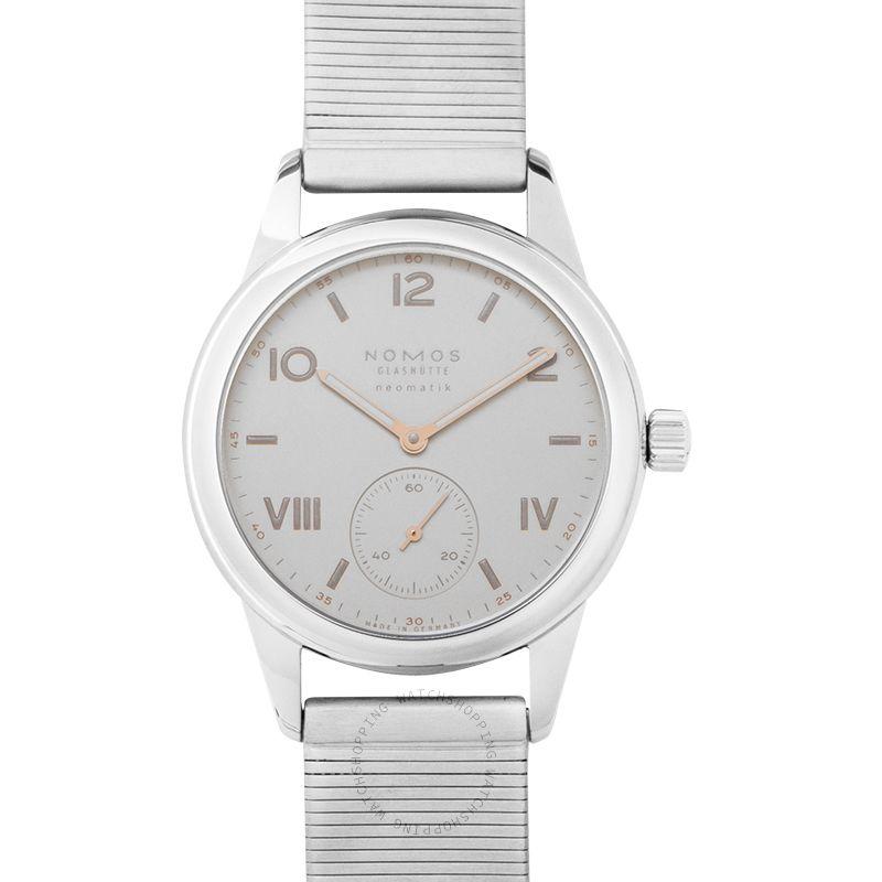Nomos Glashütte Club Campus Neomatik Automatic White Dial 37.0mm Men's Watch 748