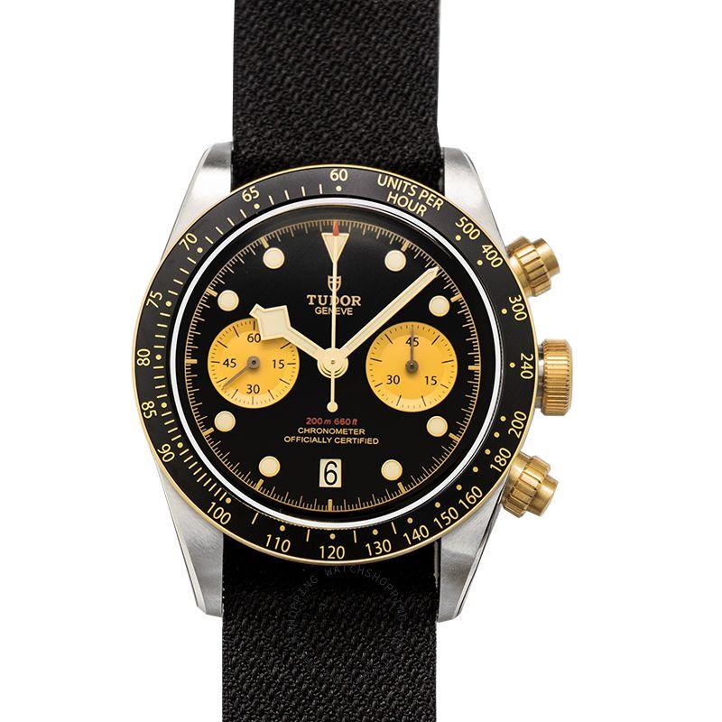Tudor Black Bay Chronograph Automatic Black Dial Men's Watch 79363N-0003