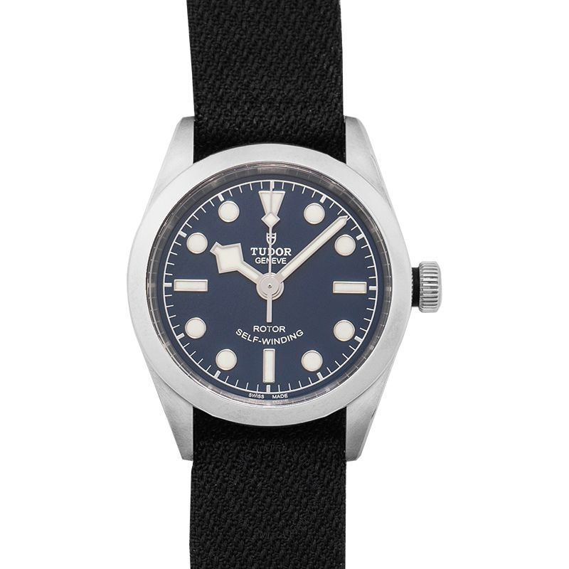 Tudor New Heritage Black Bay 32 Baselworld 2018 Steel Automatic Blue Dial Ladies Watch 79580-0006